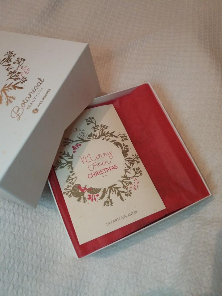 Box de Décembre … chez YvesRocher